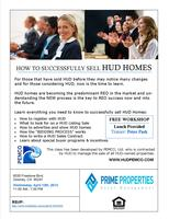 Things you must know to sell HUD Homes!