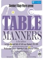 Table Manners by Alan Ayckbourn - Performed by Shawbury Village...
