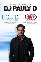 DJ Pauly D Guest DJ Set at HAZE Nightclub