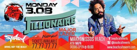 BEACH CULT Ayia Napa presents: The Jillionaire from...