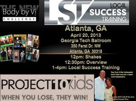 Atlanta GA Local Success Training & Challenge Party