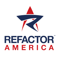 Refactor America logo