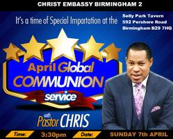 April 2013 Global Communion Service with Pastor Chris