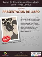 """Presentación de Libro: """"Errores de los Hombres..."""