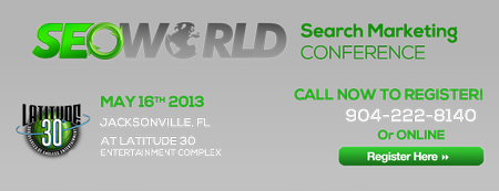 SEOWORLD Search Marketing Conference-Jacksonville