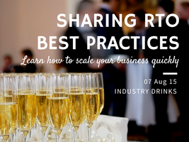 August VET Industry Drinks: Sharing Best Practices