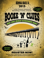 Booze-N-Clues Bar and Beach Scavenger Hunt