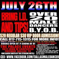 JULY 26TH BYOB MALE REVUE
