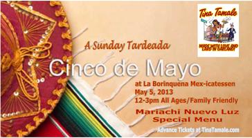Cinco de Mayo Fiesta with Mariachi Nueva Luz