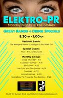 Monday Night Local at Los Globos Presented By Elektro-PR