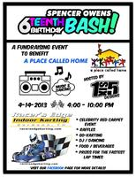 Spencer Owens 16th Birthday Bash Fundraiser for A PLACE...