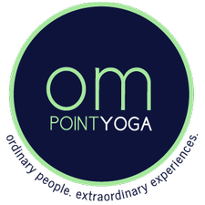 Om Point Yoga + Wellness logo