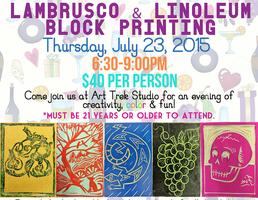 Cabernet Canvas & Color Presents: Lambrusco & Linoleum...
