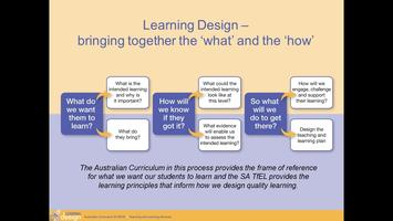 Inference in the Australian Curriculum (Angaston)