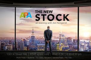 THE NEW STOCK: Evening with Jon Feingersh & the Future...