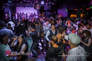 Dance Fridays Holiday Party, Live Salsa and Bachata...