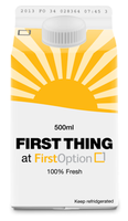 #FirstThing at First Option - Cloud Computing
