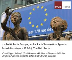 Le Politiche in Europa per La Social Innovation Agenda