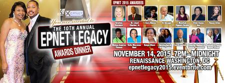 EPNET 10th Annual Legacy Ball  (Start the Holiday...