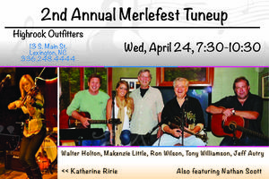 2nd Annual Merle Fest Tune Up
