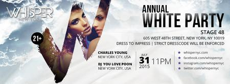 WHISPER NYC: 2ND ANNUAL WHITE PARTY @ STAGE 48