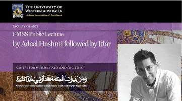 Public Lecture by Adeel Hashmi