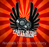 Luddstock Party in the Garden