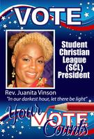 VOTE 4 VINSON SCL President