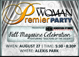 MAGAZINE PREMIER PARTY: Las Vegas Woman's Fall Issue!