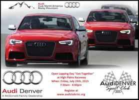HPR Track Day w/Audi Denver - Friday, July 24th, 2015
