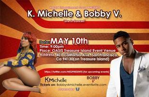 Bobby V & K'Michelle, Live in Concert