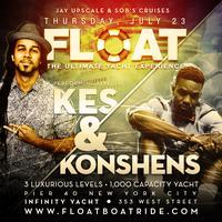 FLOAT BOATRIDE 2015 - KES & KONSHENS LIVE