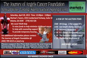 Journey of Angels Cancer Foundation 2nd Annual Wine...