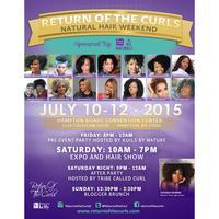 Return of the Curls Weekend 2015