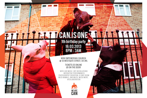 CAN.IS ONE *1st Birthday*