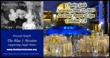 The Blue 1 Mission Charity Gala