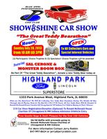 "7/28 Blue Oval Performance Car Club Show  &    ""The Great Teddy..."