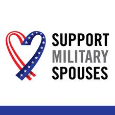 Support Military Spouses logo