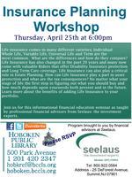 Seelaus Personal Finance Seminar: Insurance Planning