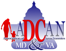 ADCAN ~ Association of DC Area Nannies  logo