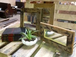 Rustic Mirror Make It Take It (COUPLES OPTION)