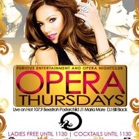 Opera Thursdays | 4.18.13 | Live on Hot 107.9