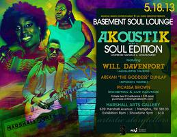 Basement Soul Lounge: Story Tellers Edition