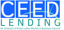 CEED Lending, an initiative of Great Lakes Women's Business Council  logo