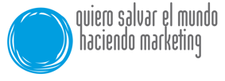 Quiero salvar el mundo haciendo marketing y OKFN Spain logo