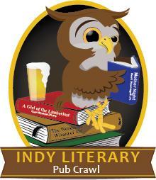 Indianapolis Literary Pub Crawl logo