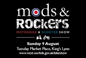 Mods and Rockers, King's Lynn Motorbike and Scooter...