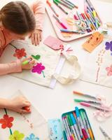 Mother's Day Craft - Decorate a Tote Bag for Mom