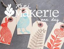 One Day Mini Makerie with Geninne D. Zlatkis