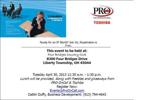 FREE IP Products Lunch and Learn Sponsored by PRO...